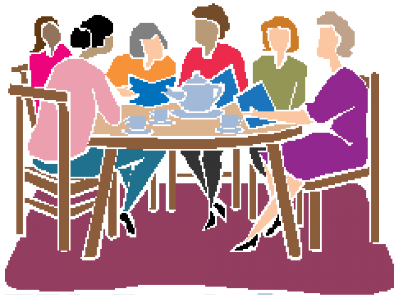 Join an adult book. Announcement clipart group