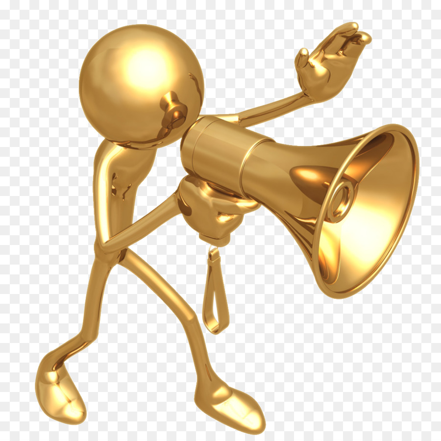 Free content blog clip. Announcement clipart horn
