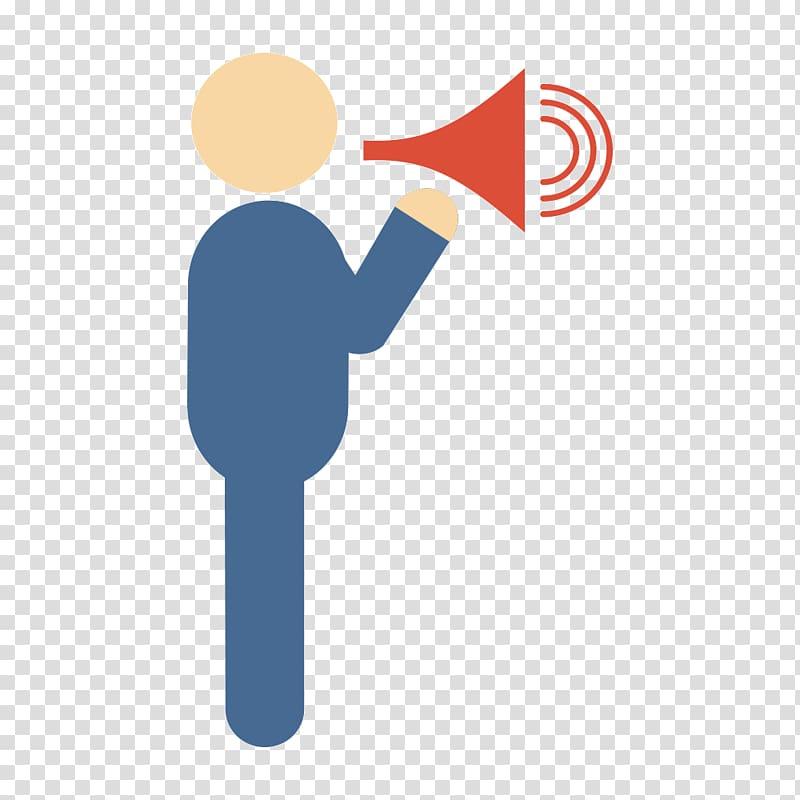 Baby speaker announced transparent. Announcement clipart icon