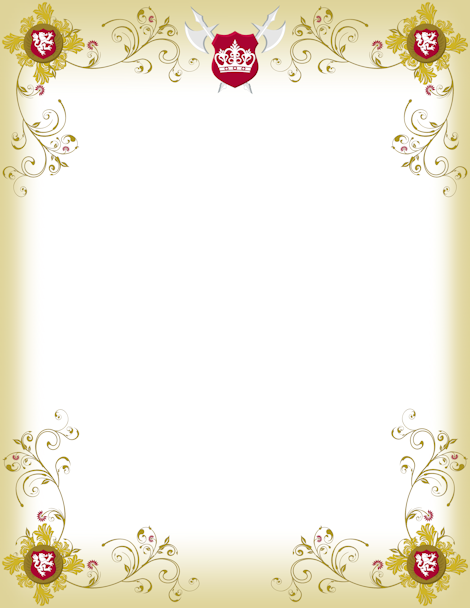 Announcement clipart medieval. Printable border free gif