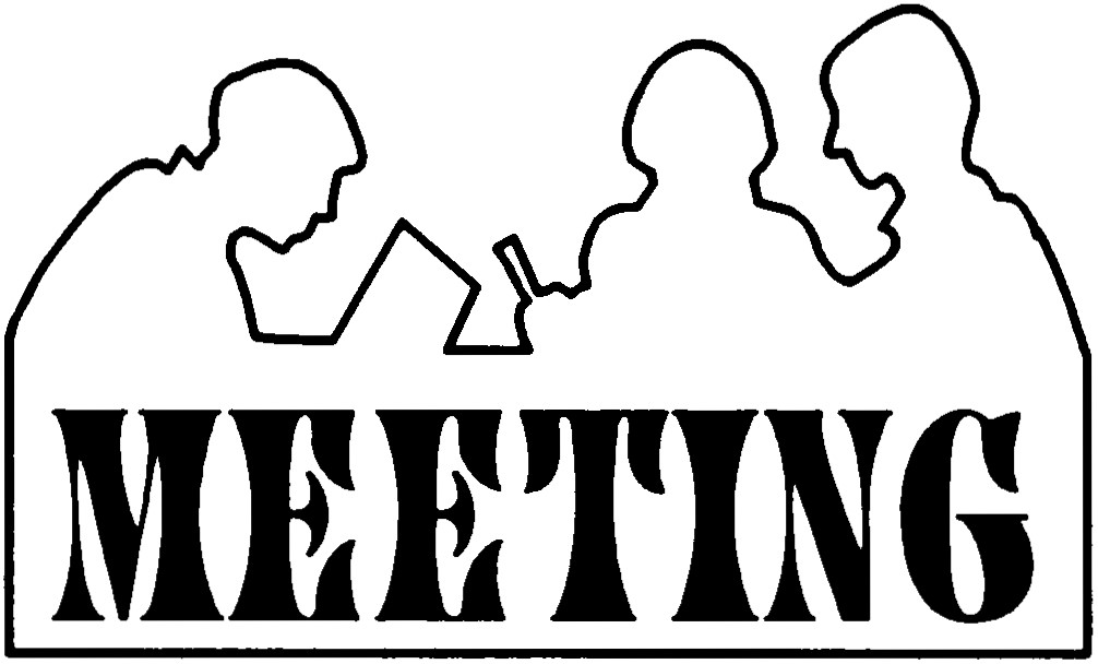 Announcement clipart meeting announcement. Free notice cliparts download