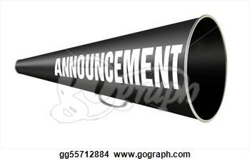 Announcement clipart megaphone. Panda free images