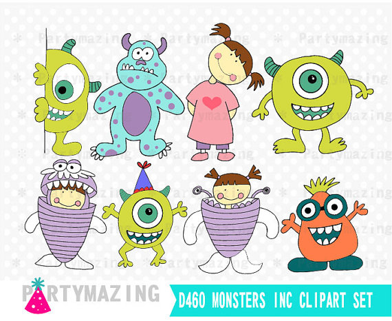 Monsters inc sully boo. Announcement clipart mike
