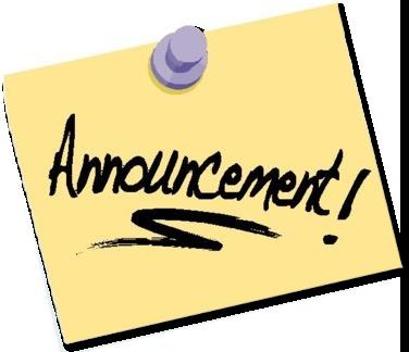 Centennial. Announcements clipart morning announcement