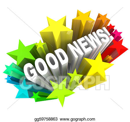 Announcements clipart news announcement. Stock illustration good message