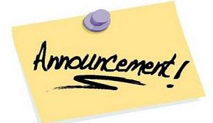 Free publication announcing tags. Announcement clipart news announcement