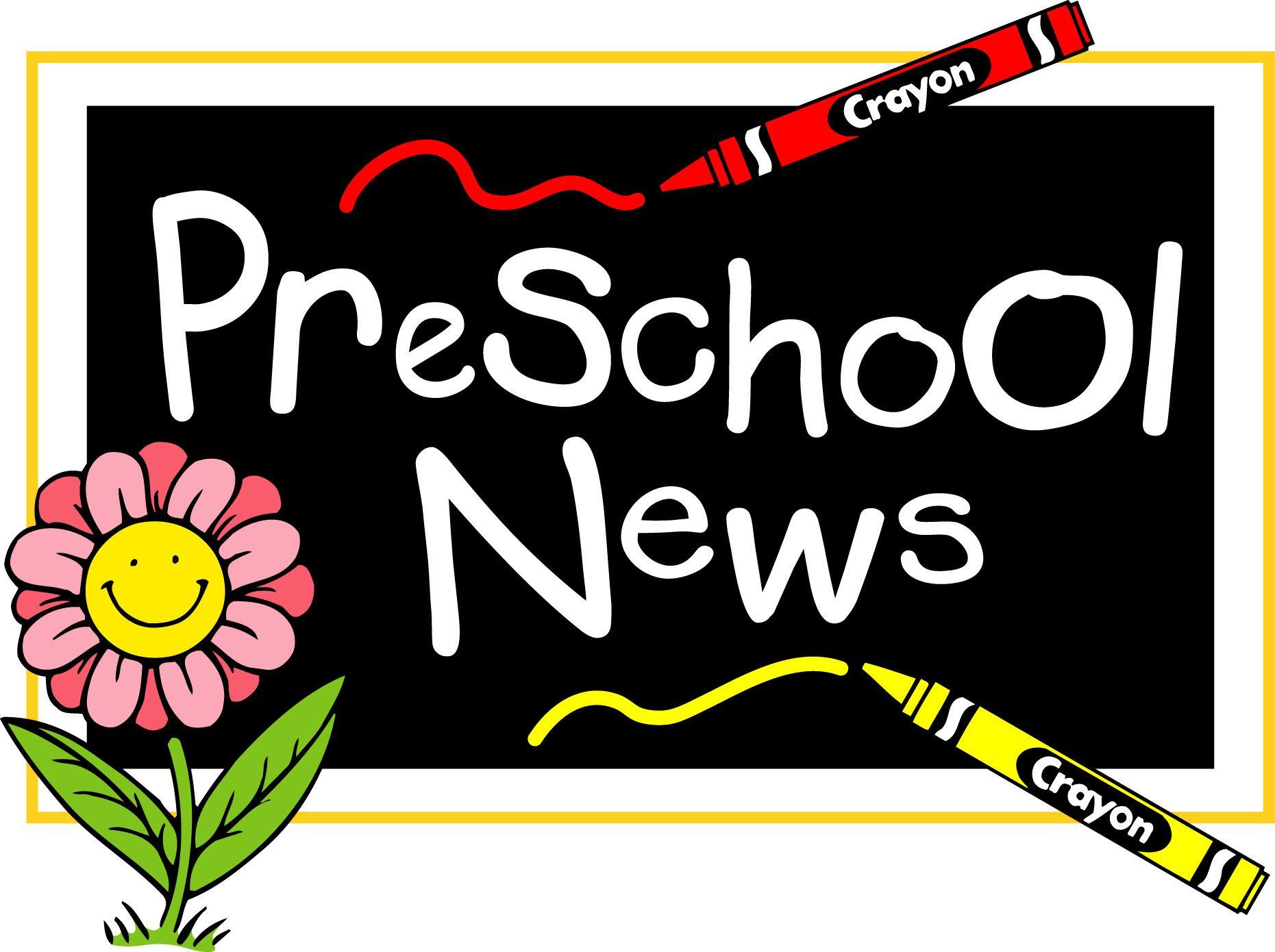 Images for preschool information. Announcement clipart newsletter