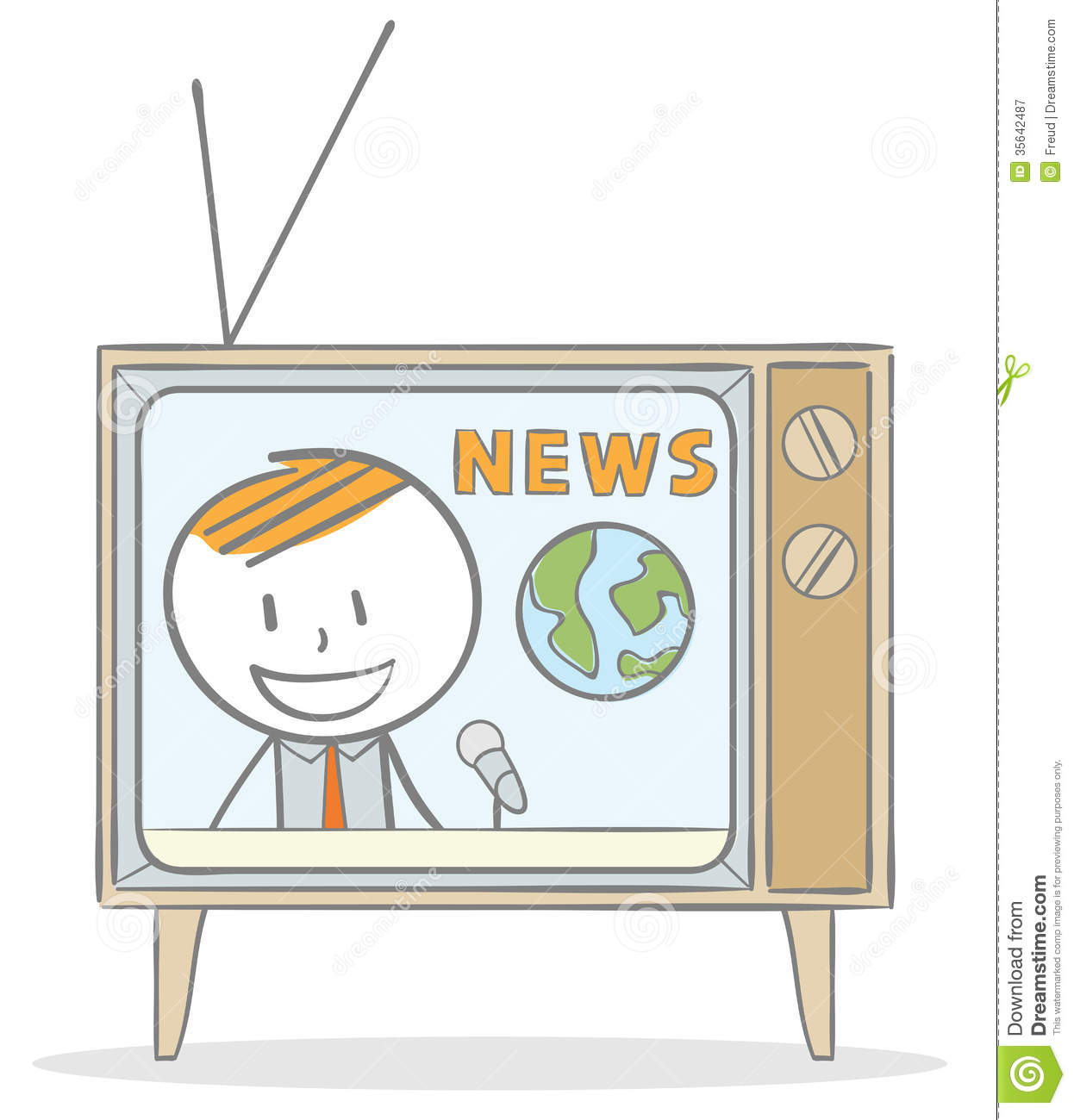 Announcement clipart programme. News panda free images