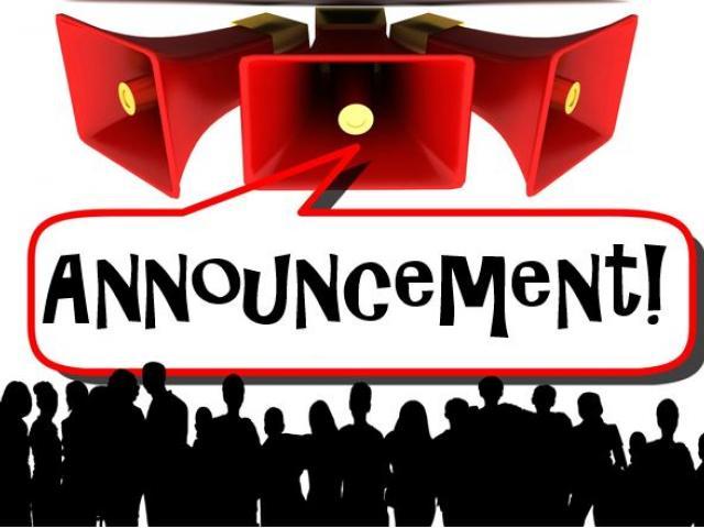 Cliparts free download clip. Announcements clipart public announcement