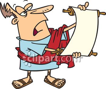Com school edition demo. Announcement clipart scroll