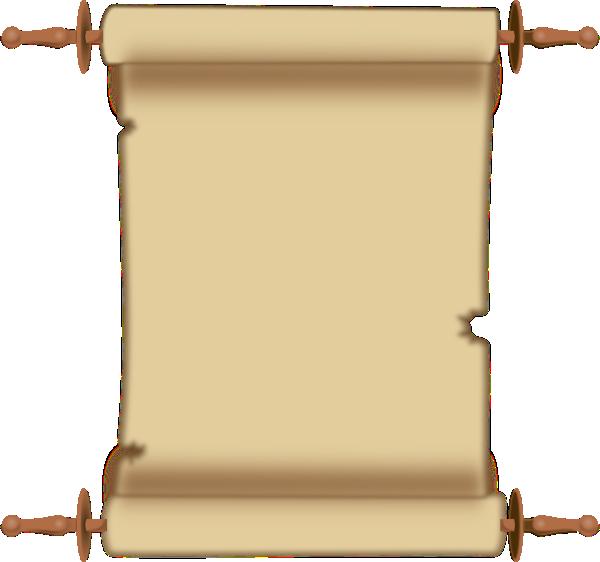 Clip art at clker. Announcement clipart scroll