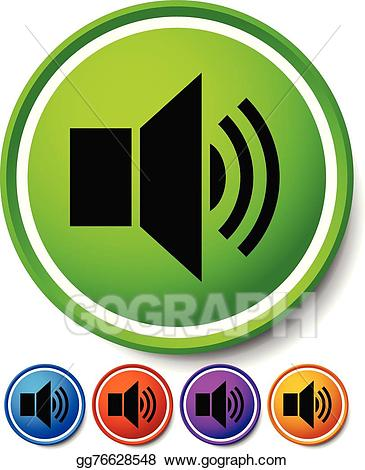 Announcement clipart sound. Comps gograph com speaker