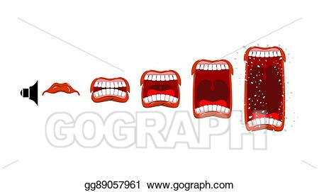 Comps gograph com volume. Announcement clipart sound