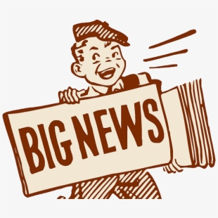 Important big news coming. Announcement clipart special announcement