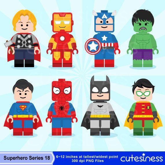 Announcement clipart superhero. Lego digital by cutesiness