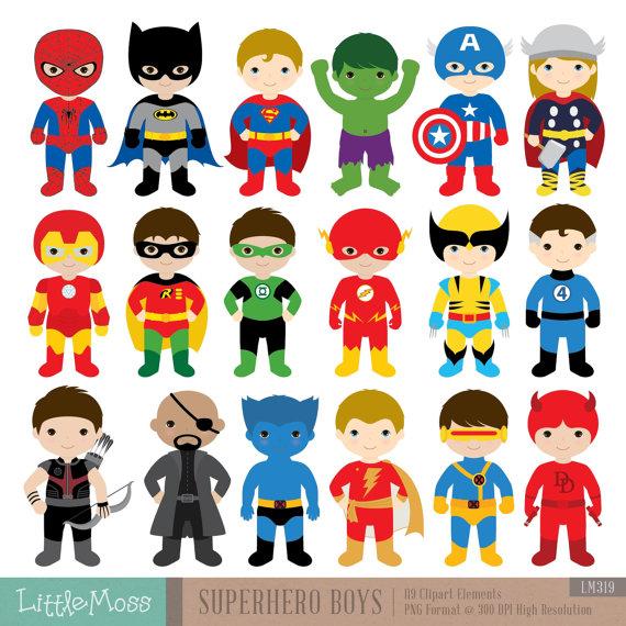 Announcement clipart superhero.  boys costumes superheroes