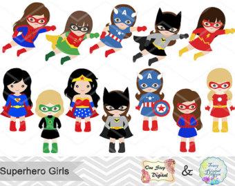 Boots clipart superhero. Clip art etsy girls