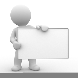 Stick figure free images. Announcement clipart team