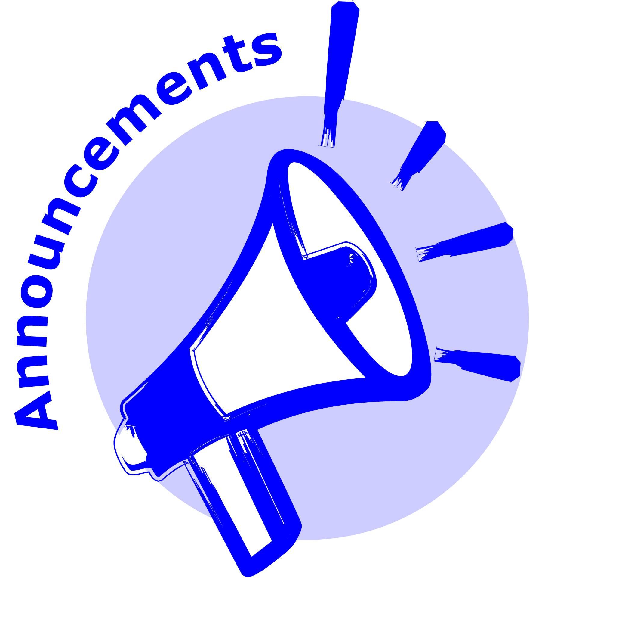 Announcement clipart team. Cilpart valuable inspiration outage