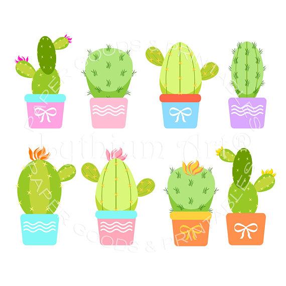Cactus png clip art. Announcement clipart transparent background