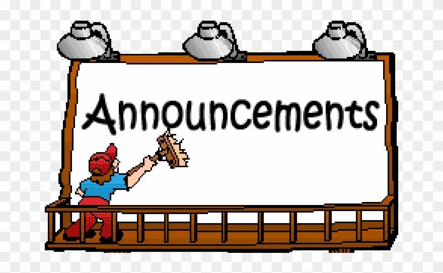 Announcements clipart.  huge freebie download