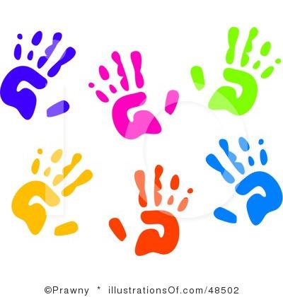 Preschool handprint panda free. Announcements clipart advertiser