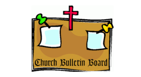 For november st philip. Announcements clipart announcement board