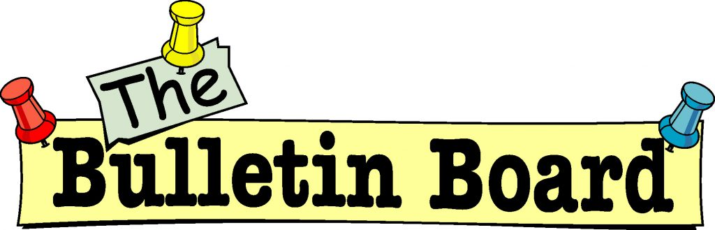 Announcement clipart bulletin. Bulletinboard sandlot sports academy