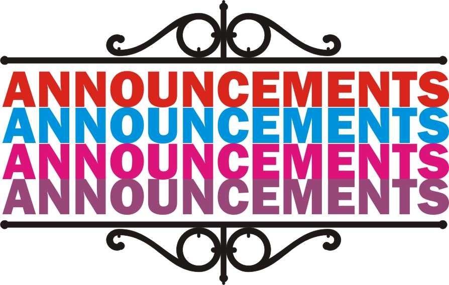 Announcements clipart anouncement. Important announcement clip art