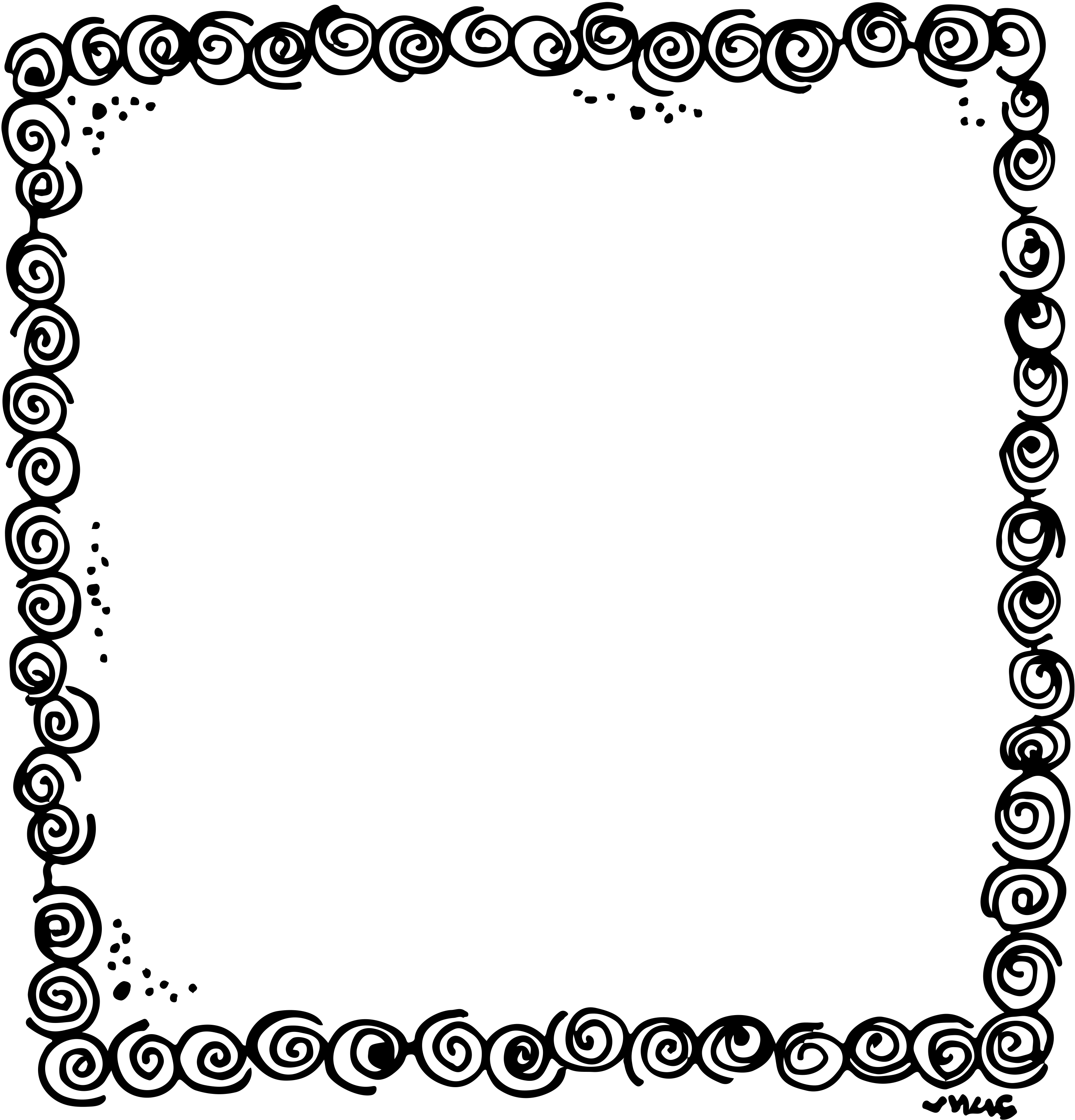 Border or frame for. Notepad clipart cuaderno