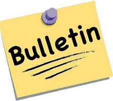 Clip art board. Announcements clipart bulletin