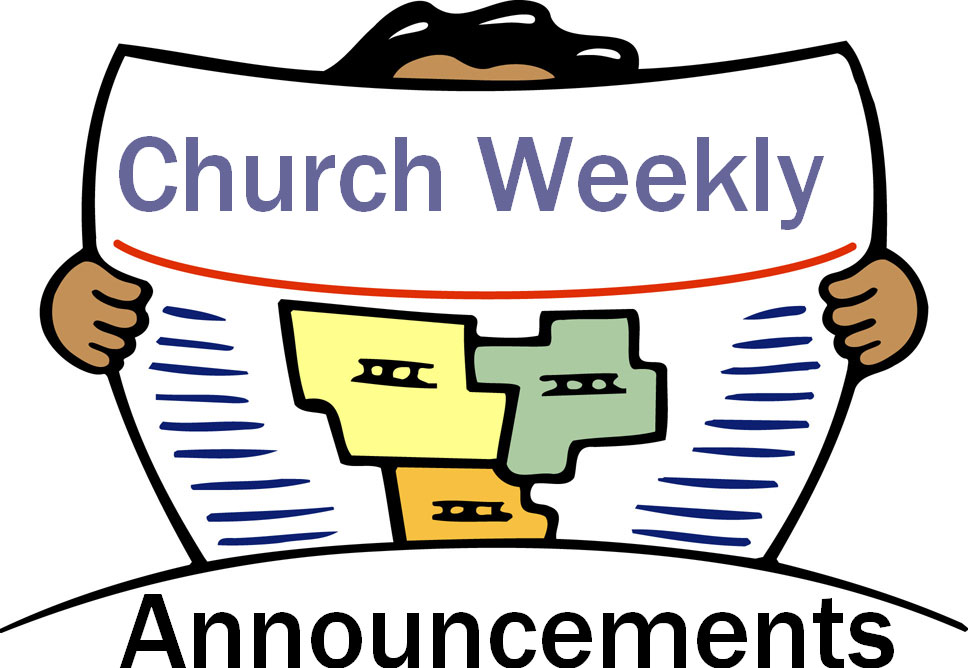 Holy heteroclite july bono. Announcements clipart church