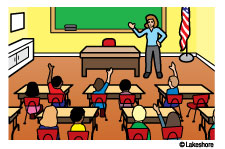 collection of a. Class clipart teaching