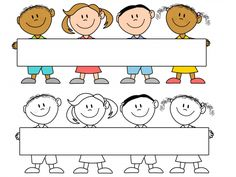 Editable kid stationery for. Announcements clipart classroom