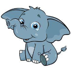Announcements clipart elephant. Cartoon elephants baby page