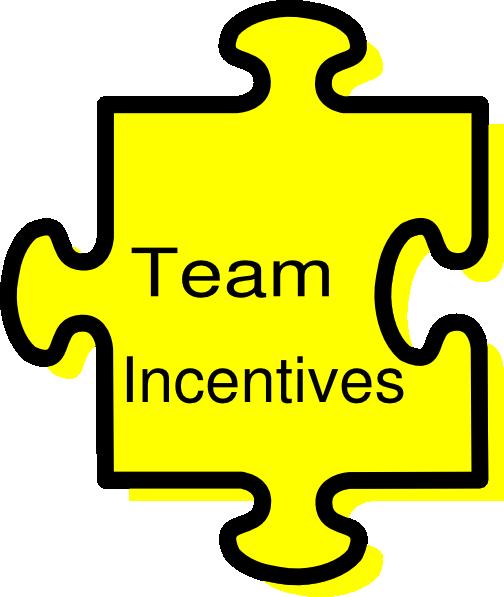 Announcements clipart incentive. Team incentives clip art