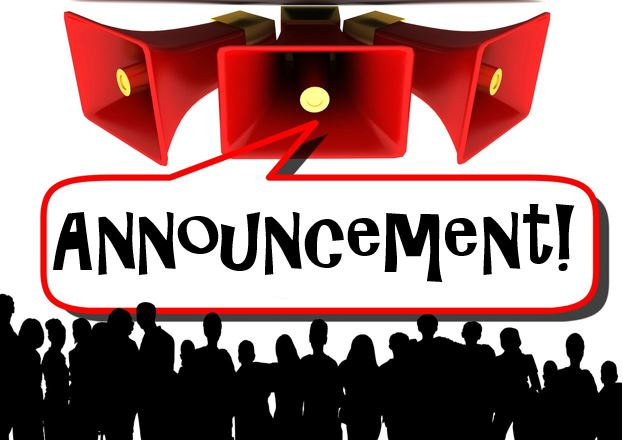 Using in canvas do. Announcements clipart job announcement