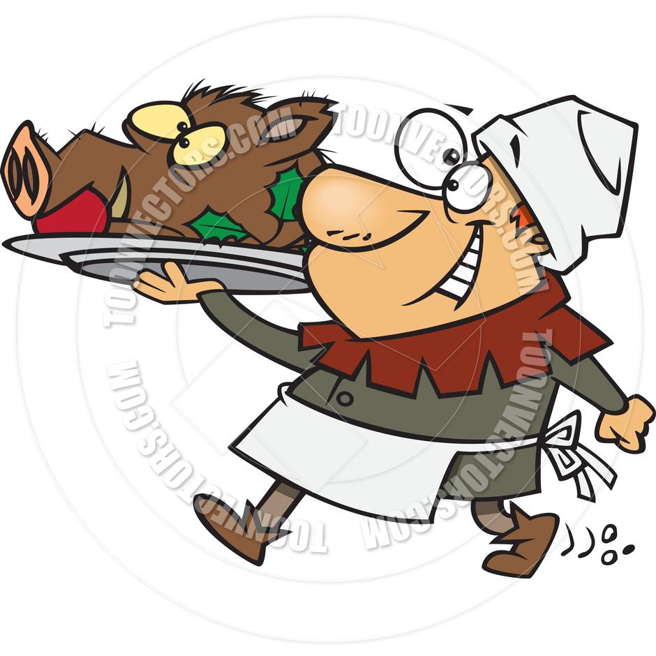 Cook . Announcements clipart medieval