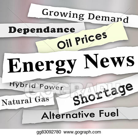 Drawing energy news media. Announcements clipart newspaper