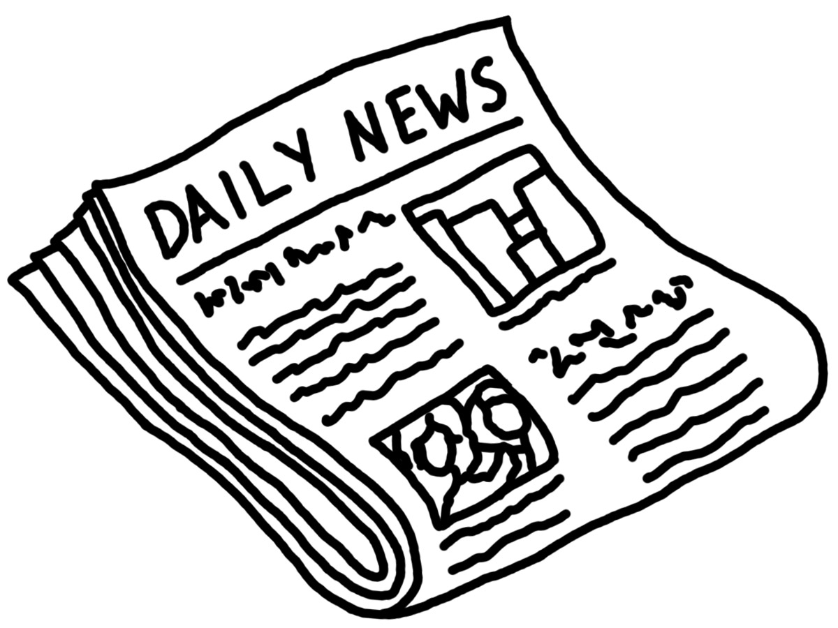 Glenwood high school daily. News clipart old newspaper