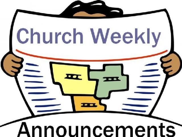 Church bench free on. Announcements clipart public announcement
