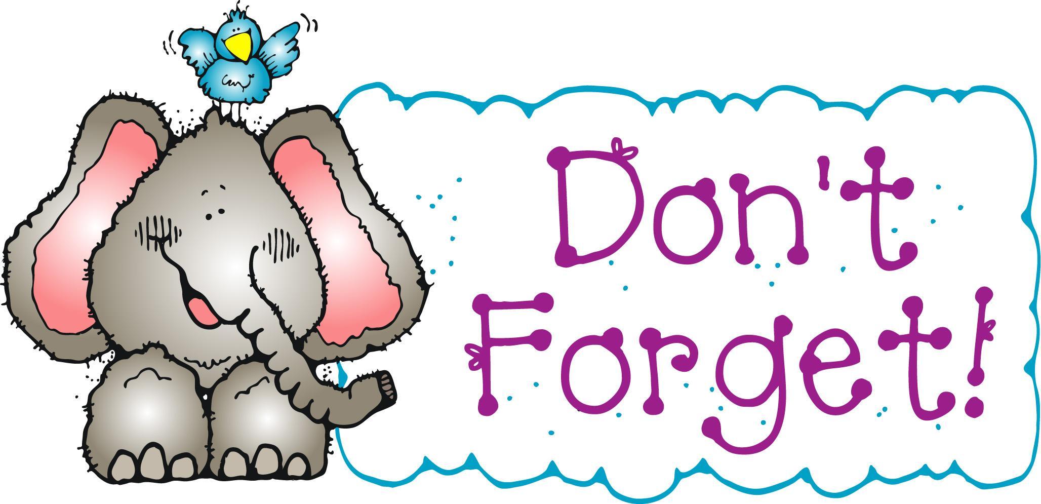 Clip art images free. Announcements clipart reminder