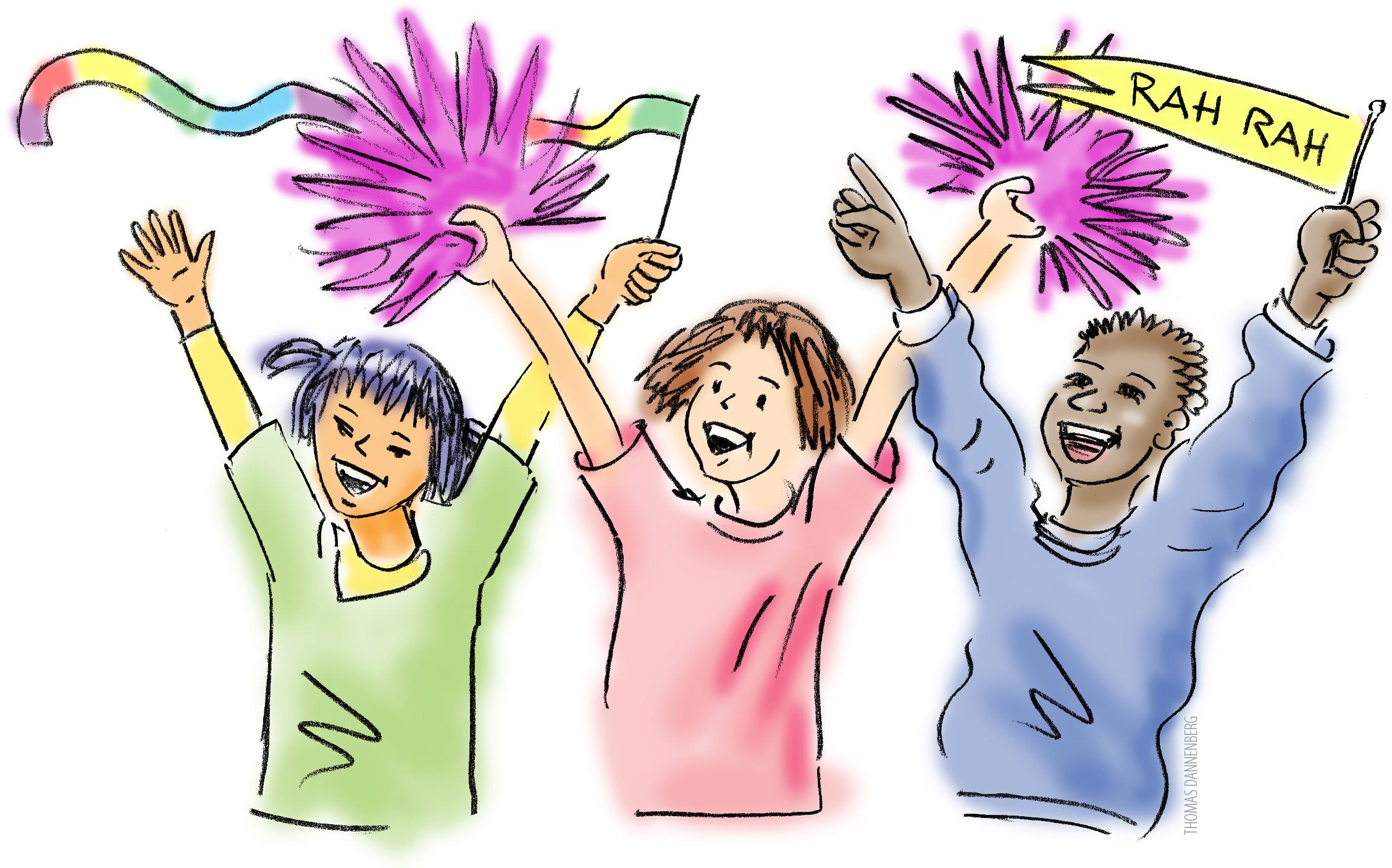 Day . Announcements clipart school spirit