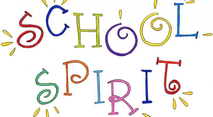 Day neon portola springs. Announcements clipart school spirit