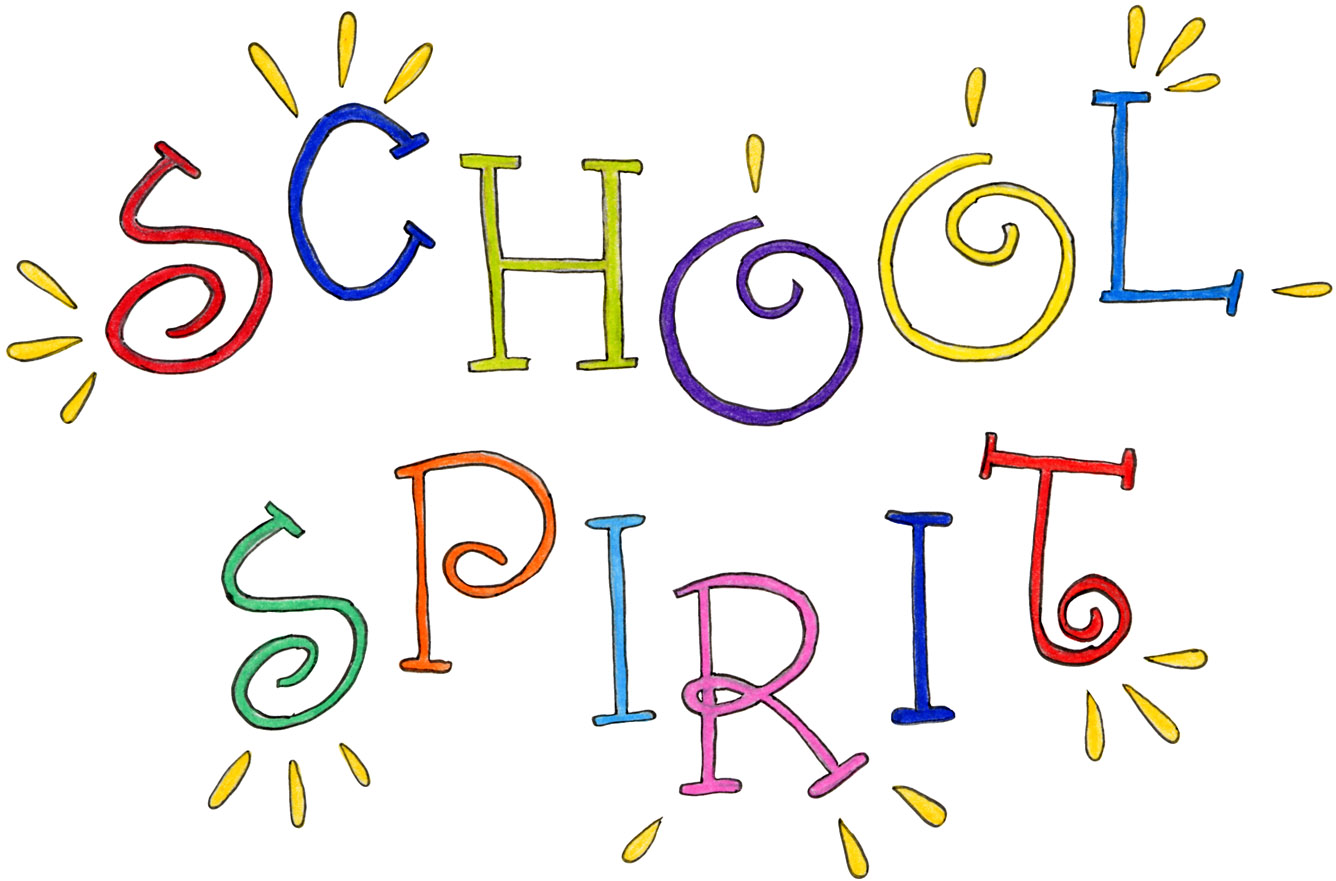 Administration announces new days. Announcements clipart spirit week