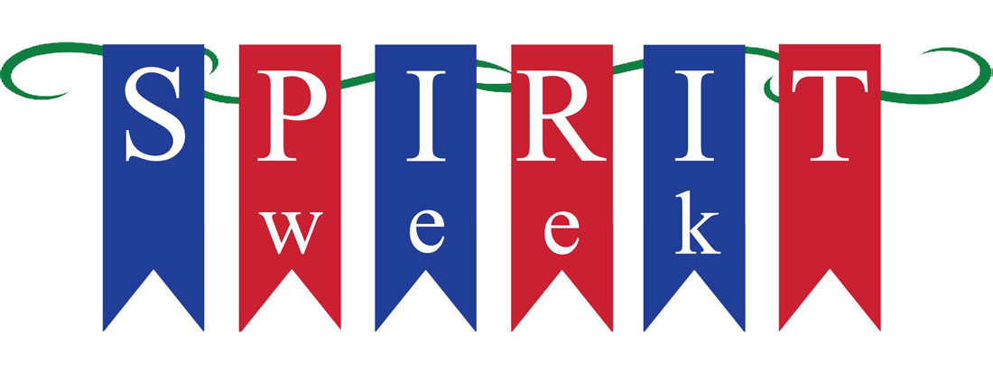 Announcements clipart spirit week. Celebrate raider news landing