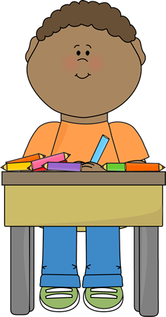 Doing school work clip. Announcements clipart student