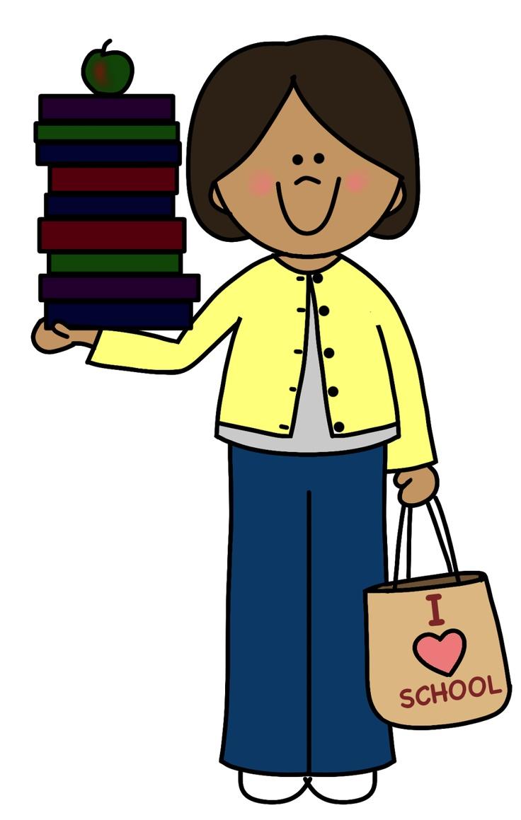 Meet the free download. Books clipart teacher