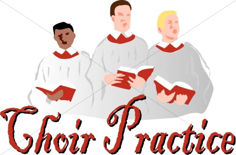 Announcement clipart church. Boys choir practice