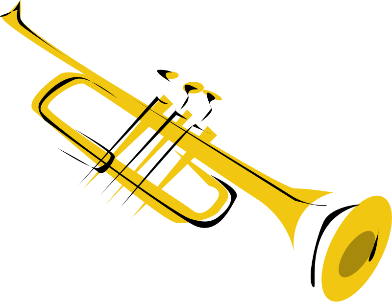 Announcements clipart trumpet. Music pictures panda free